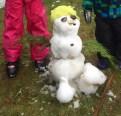 unser kleiner Schneemann ;-)