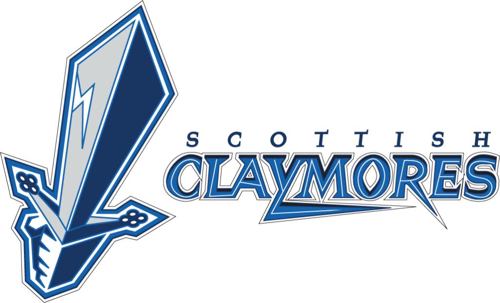 Scottish Claymores Alternate Logo 1998