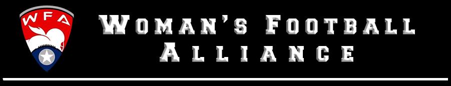 Woman's Football Alliance Logo