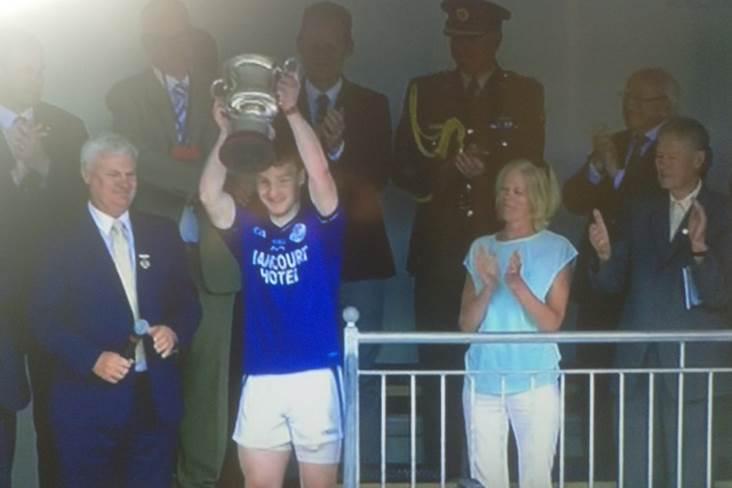 Naomh Chonaill lifted the Comortas Peile na Gaeltachta in 2016