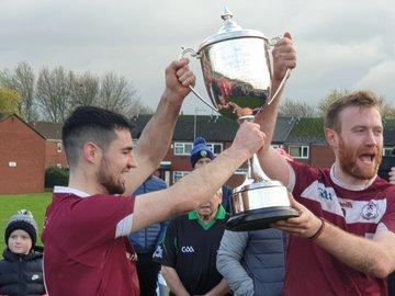 Thomas McCurtains Britain GAA Club Football Provincial Champions 2019