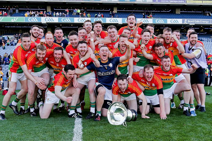 Carlow - Christy Ring Cup Final Champions 2017
