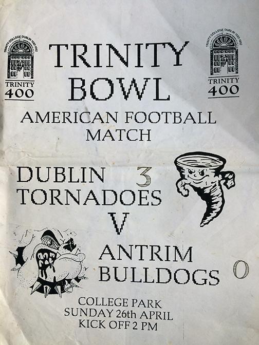 Trinity Bowl 1992 Poster