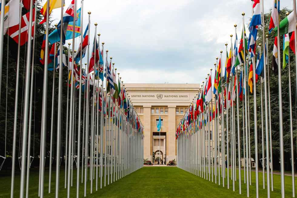 flag of different countries un members