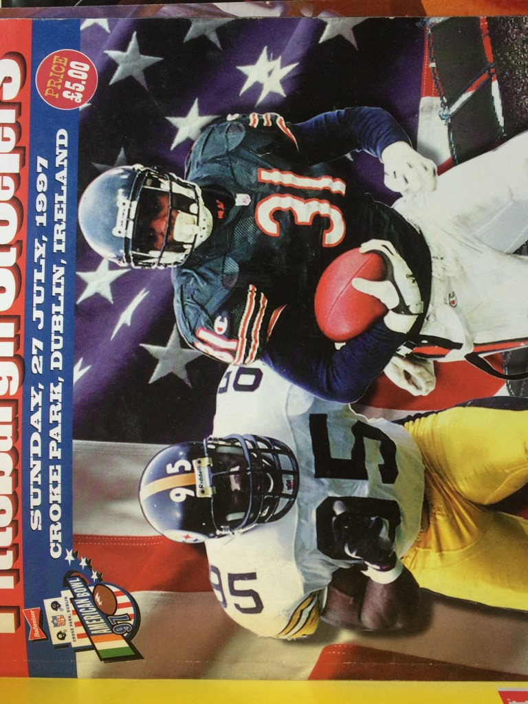 NFL American Bowl 1997 Official Programme