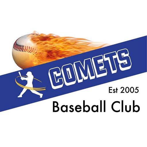 Comets Baseball Logo 2020