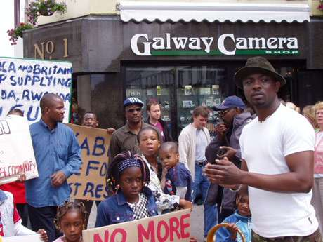 460 0   30 0 0 0 0 0 drc2 3 - Congolese Community In Galway Protest Against Political Injustice, 2005.