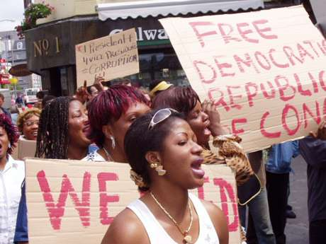 460 0   30 0 0 0 0 0 drc3 3 - Congolese Community In Galway Protest Against Political Injustice, 2005.