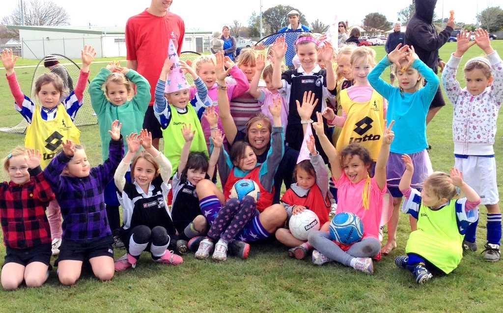 Eir Soccer Becca Todd kids practice IMG_3280