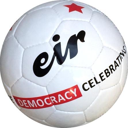 Eir soccer ball Do Democracy