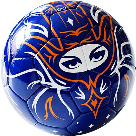 Soccer ball Sensational art rebel 01