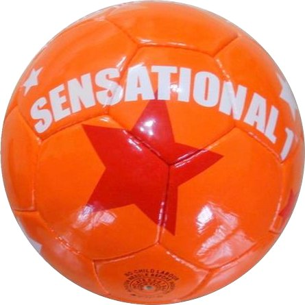 Soccer ball Sensational orange karma 01