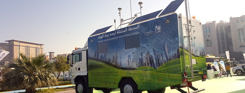 Mobile Station Air Quality Monitoring