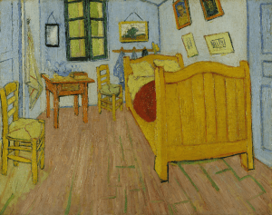 the Bedroom by von Gogh