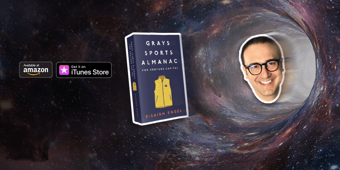 Book cover: Grays Sports Almanac for Venture Capital - A new standard for optionality to beat the odds
