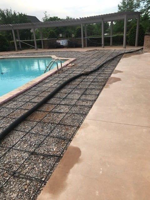 New Concrete Around Pool