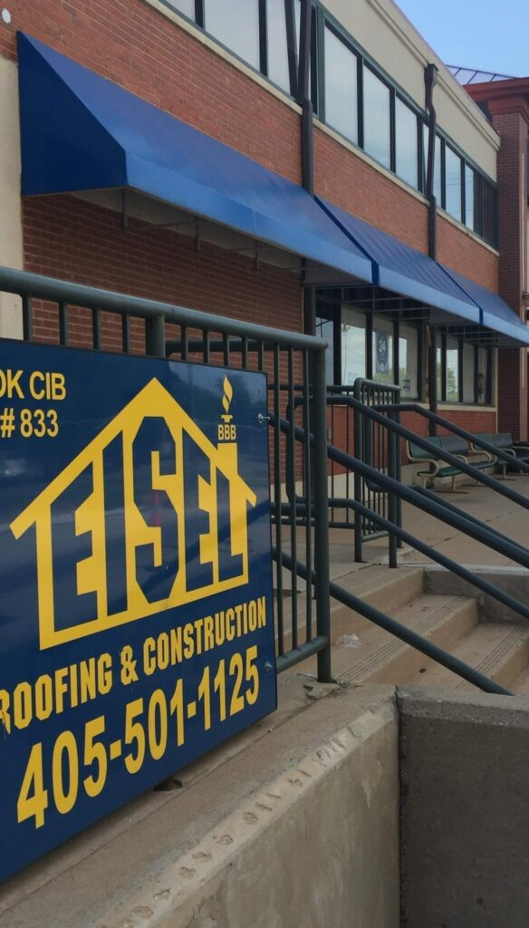 Commercial work in Bricktown - Floor staining, painting, bathroom remodel, and carpet install.
