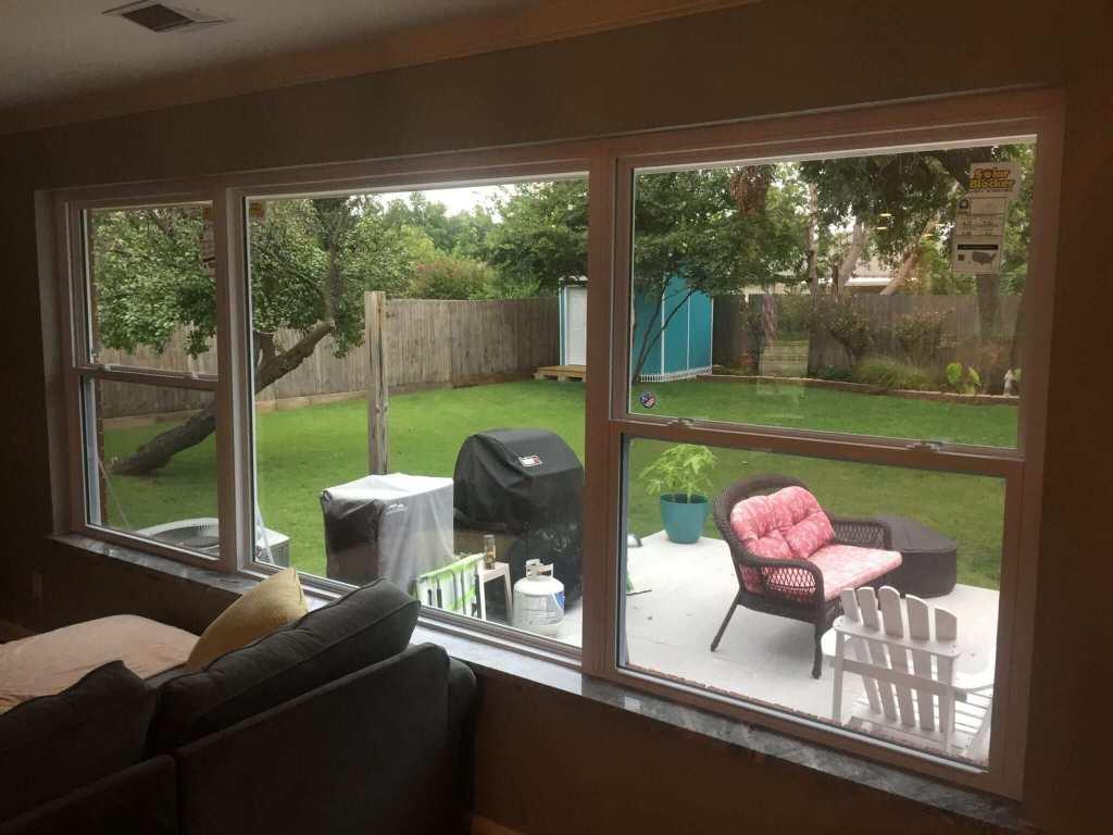 All new vinyl Low-E double pane windows