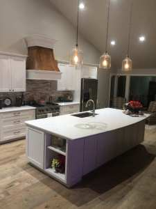 New LED can lighting and pendant lighting, new island, new granite counter tops, new cabinets, new appliances, new Energy Efficient Low-E windows, new wood floors, new vent custom vent hood, stain, and paint.