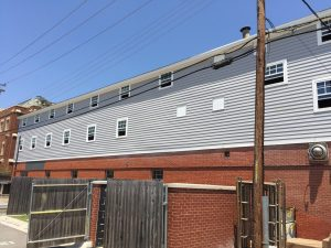 Fraternity – new siding and windows