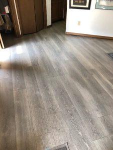 New LVT Flooring