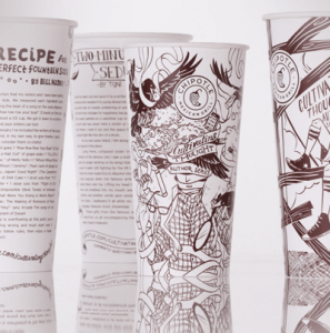 Chipotle Cup Stories