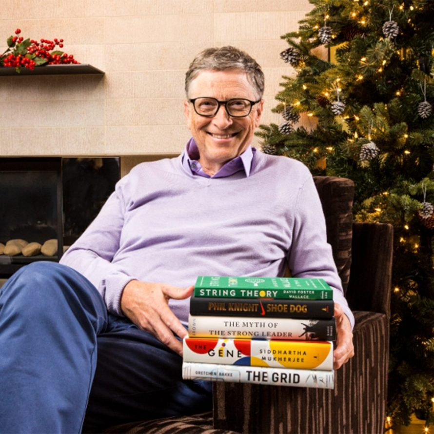 Bill Gates' Favorite Books of 2016