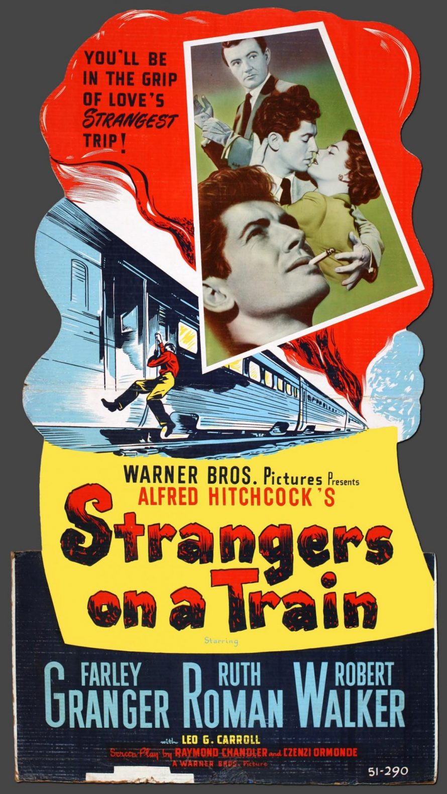 Page to Screen Club: Strangers on a Train