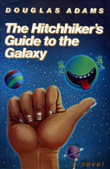 First Edition: The Hitchhiker's Guide to the Galaxy
