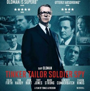 Page to Screen Club: Tinker, Tailor, Soldier, Spy