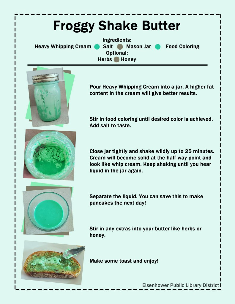 Froggy Shake Butter Recipe