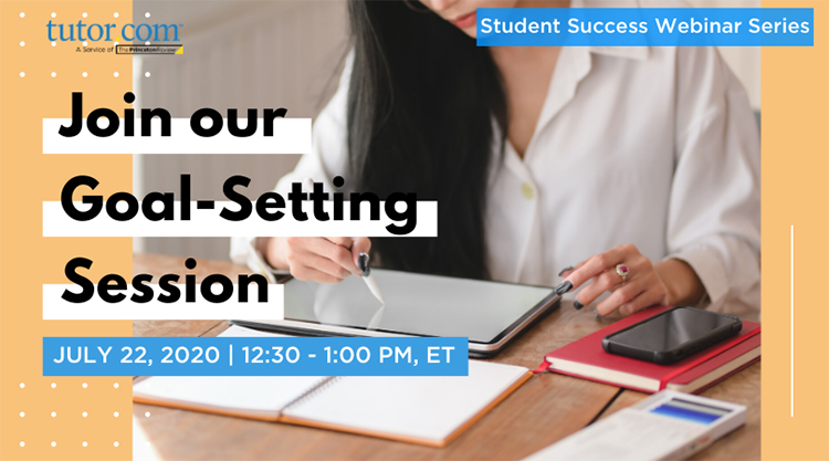 2020 Student Success Webinar - Goal Setting