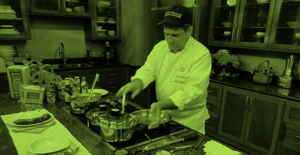 Virtual Cooking with Chef Michael Niksic