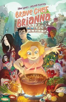 3rd – 5th Grade Graphic Novel Club: Brave Chef Brianna