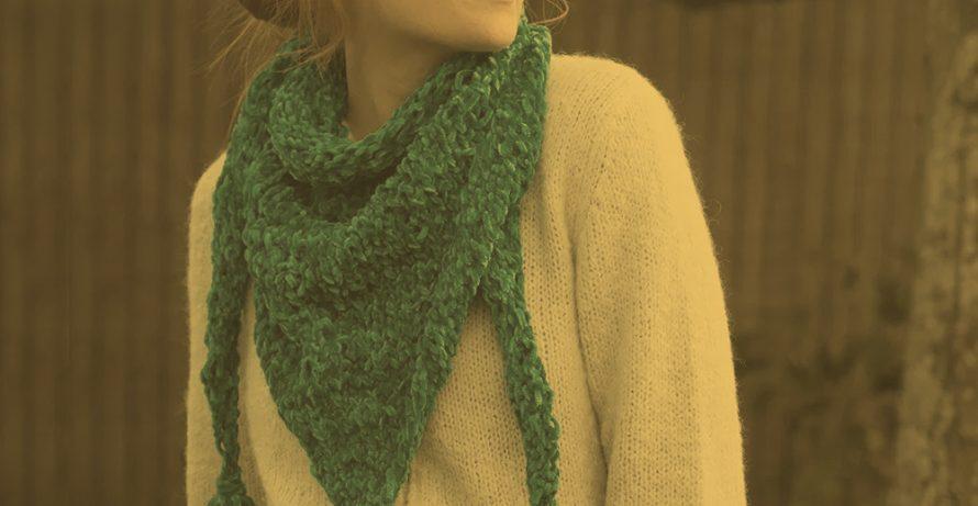 Crochet-a-Long: Triangle Scarf