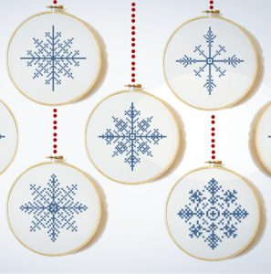 Snowflake Cross Stitch for Beginners
