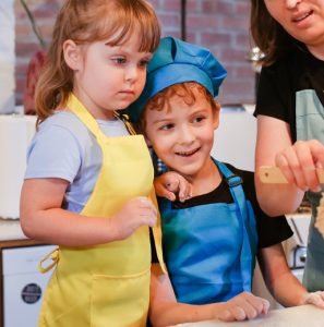 Kids Learn to Make Pasta