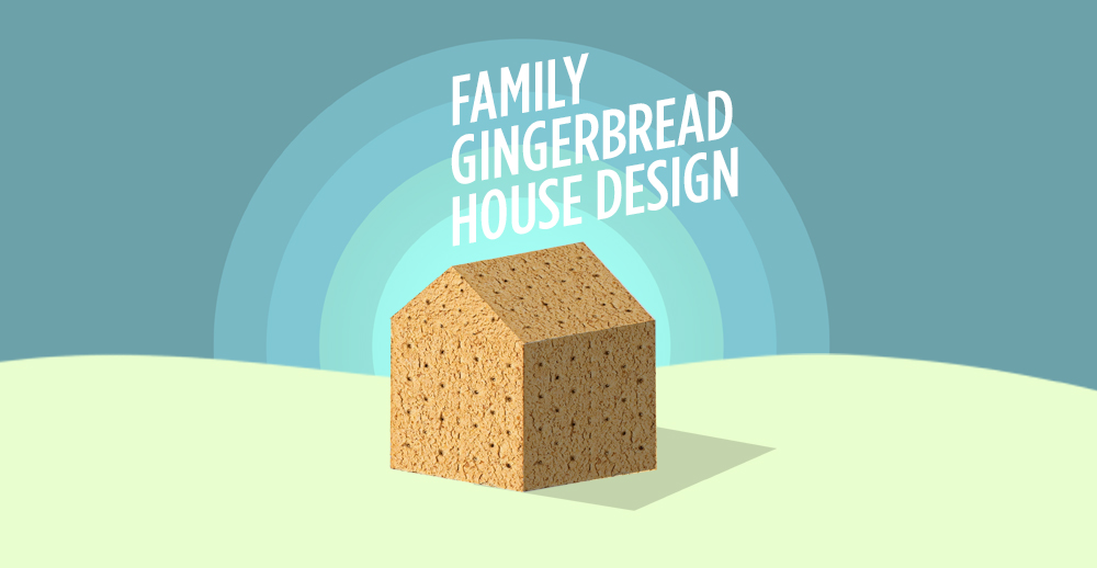 Family Gingerbread House Design