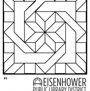 Quilt Square Coloring Pages