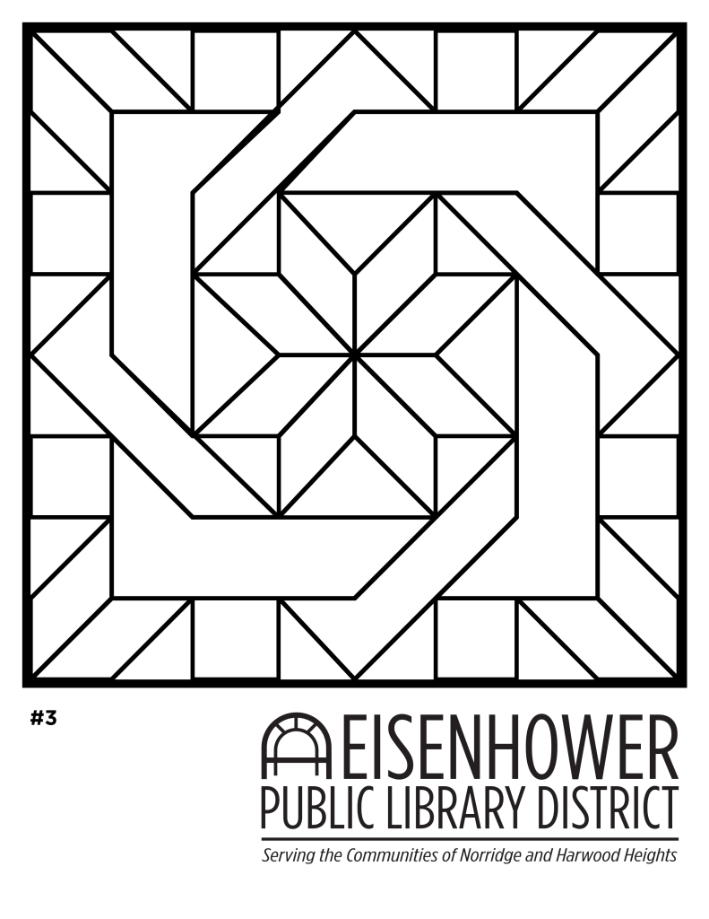 Quilt Coloring Page