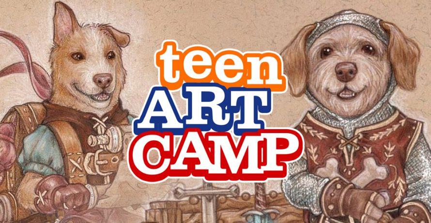 Teen Art Camp: Ashley Erickson