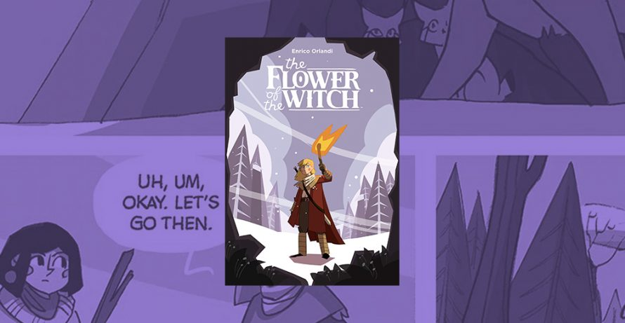3rd-5th Grade Graphic Novel Book Club: The Flower of the Witch