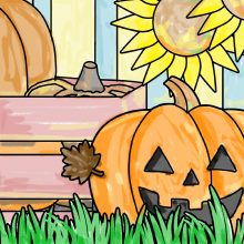 Fall Fun Fest Coloring Pages