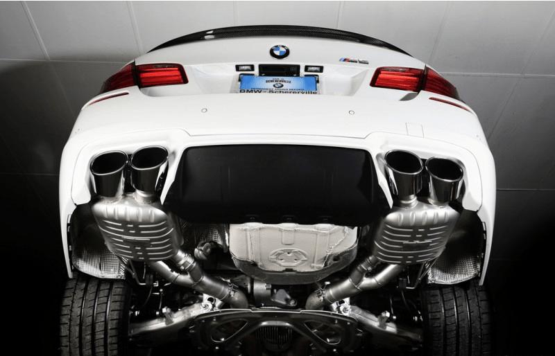 eisenmann bmw f10 m5 performance exhaust full system