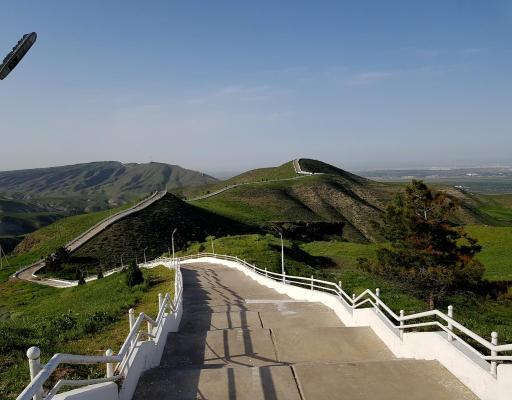 Saglyk ýoly – path of health – Ashgabat, Turkmenistan