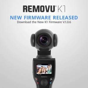 REMOVU K1 復活しました。(ファームウェアの更新もされてました)