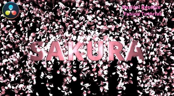 日本語でFusionのパーティクルを使ったチュートリアルをやっている映像を見つけた。