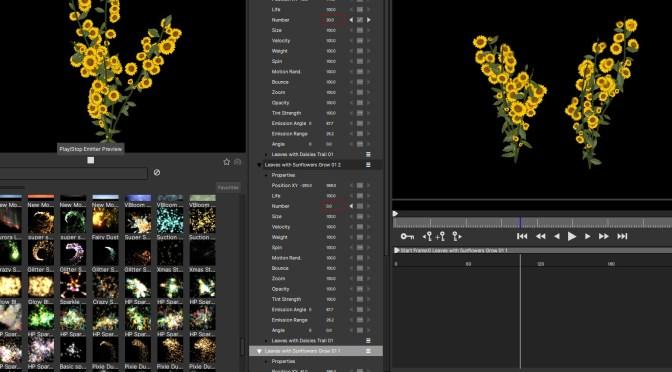 BORIS FXのボリスパーティクルイリュージョン2021スタンドアロンを利用しよう。