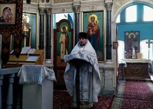 В Покровском храме станицы Каневской отслужили первую в 2017 году миссионерскую Божественную литургию