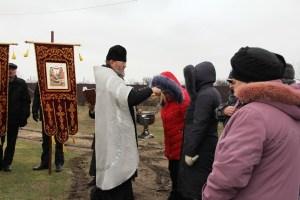 Крестный ход на праздник Богоявление Господне в хуторе Морозовский